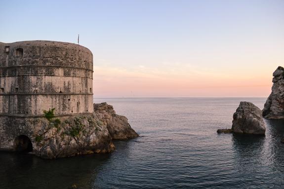 Dubrovnik wall.