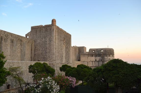 Dubrovnik walls.