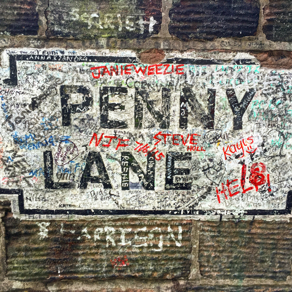 Penny Lane sign