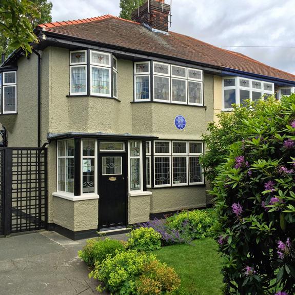 Lennon childhood home