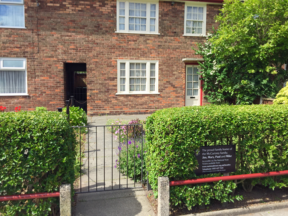 McCartney's childhood home