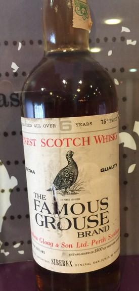 Famous Grouse bottle
