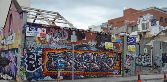 Windmill Lane graffiti