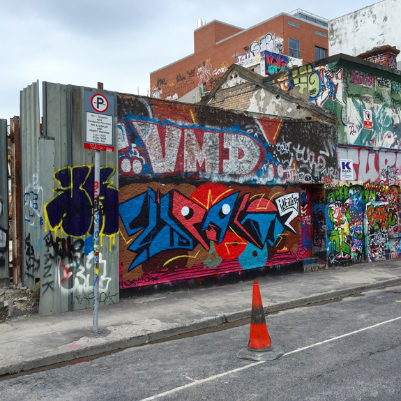 Windmill Lane graffiti
