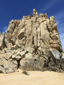 Cabo land's end rocks
