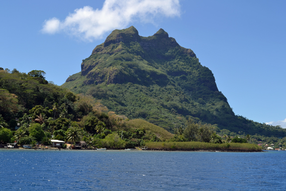 Mt. Otemanu on Bora Bora