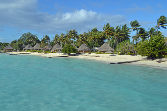 Bora Bora beach bungalows