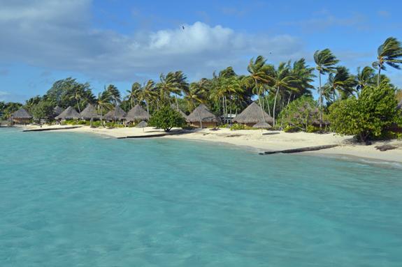 Bora Bora beach bungalows
