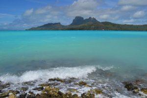 Bora Bora lagoon view