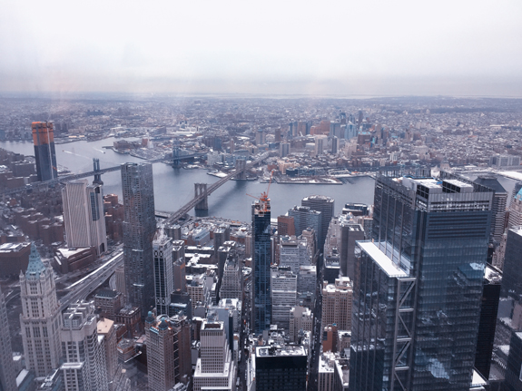 View from World Trade Center